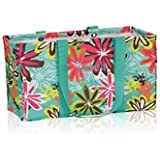 Thirty One Large Utility Tote 3121 Daisy Craze