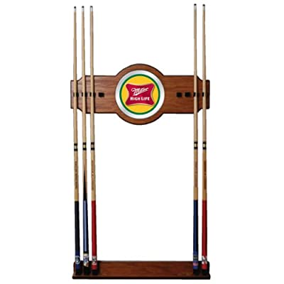 Trademark Billiard Cue Rack - Miller High Life