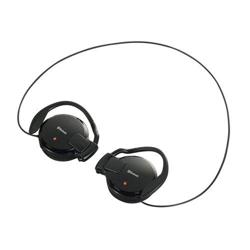 iBUFFALO Bluetooth2.1ステレオイヤホン[PC,Andoroid,iPhone4S,携帯電話]対応ACアダプタ付 ブラック BSHSBE09ABK