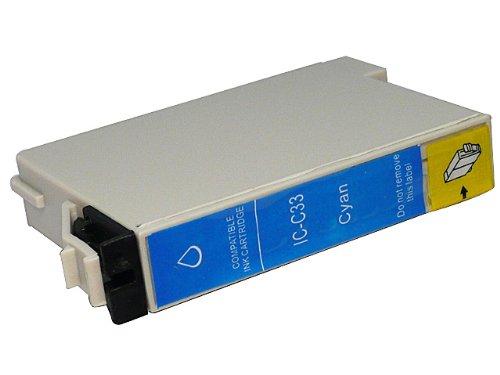 ≪ エプソン EPSON ≫ IC- C33 ( シアン ) 互換 インク カートリッジ