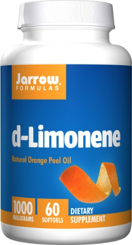 Jarrow Formulas D-Limonene, 1000Mg, 60 Softgels (Pack Of 2)