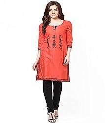 KIRA women's wear Printed Kurtas(Women,K-427L)
