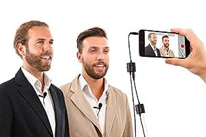 IK Multimedia IP-IRIG-MICLAV-IN Vocal Condenser Microphone