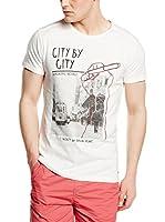 Springfield Camiseta Manga Corta (Gris Claro)