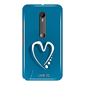 a AND b Designer Printed Mobile Back Cover / Back Case For Motorola Moto G (3rd gen) (Moto_G3_3D_440)