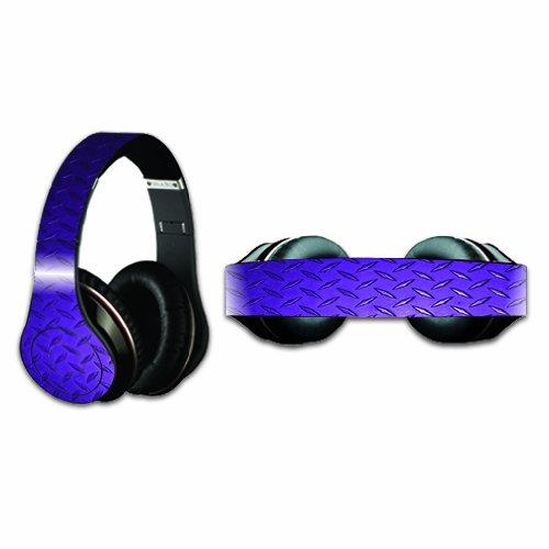 Mightyskins Protective Vinyl Skin Decal Cover For Dr. Dre Beats Studio Headphones Sticker Skins Purple Diamond Plate