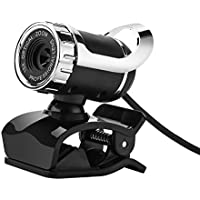 Newest Webcam USB 12 Megapixel HD Camera Web Cam 360 Degree MIC Clip-on For Skype Computer