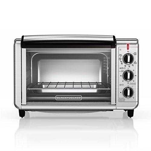 Black & Decker TO3230SBD 6-Slice Counter Top Convection Oven, Silver (Black Decker 6 Slice compare prices)