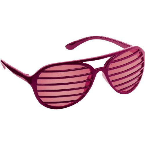 Burgundy Shudder Shades - 1