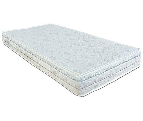 Baldiflex Materasso Una Piazza e Mezza Easy 2.0 in Memory Foam, Ortopedico, Antiacaro, 120x190x22cm