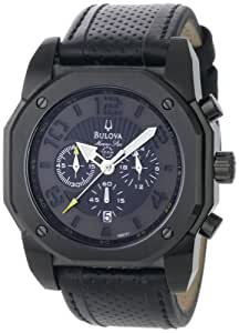 Bulova Men's 98B151 Marine Star Black on Black Color Scheme Watch