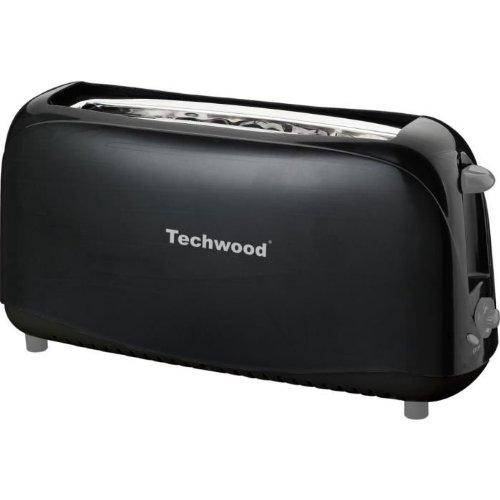 techwood grill pain noir avec 1 large fente. Black Bedroom Furniture Sets. Home Design Ideas