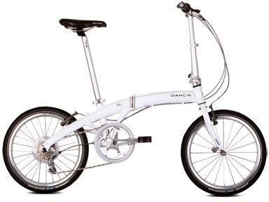 Dahon Mu P8 Folding Cloud White Folding Bike