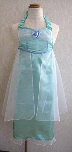 ハロウィン 衣装 アナと雪の女王 キッズ 子供用 プリンセスエプロン スノーブルー S