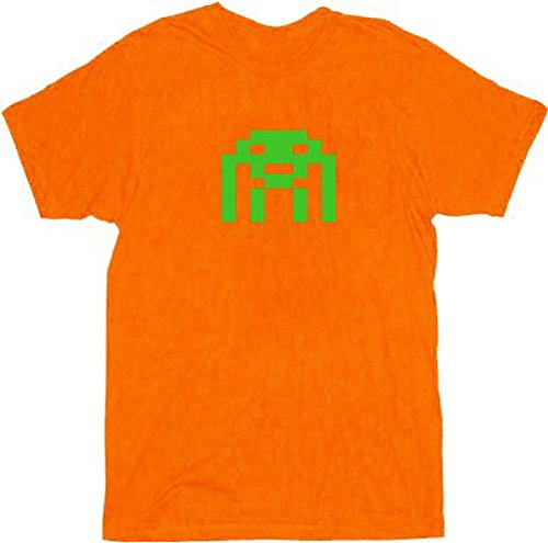 The Big Bang Theory Orange Space Invader T-shirt - S to XXL