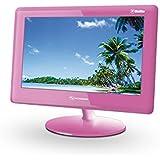 "Schneider Betta 901 PVR Pink - Televisor (22,86 cm (9""), Botones, AVI, DAT, MPG, VOB, MP3, OGG, WMA, BMP, GIF, JPG, Rosa)"
