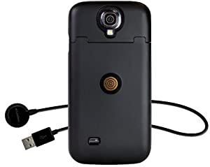 Magnetyze Galaxy S4 Protective Case and Cable - Black