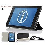 IVSO Slim-Smart Cover Case for Dell Venue 7 Tablet (For Dell Venue 7 , Black)