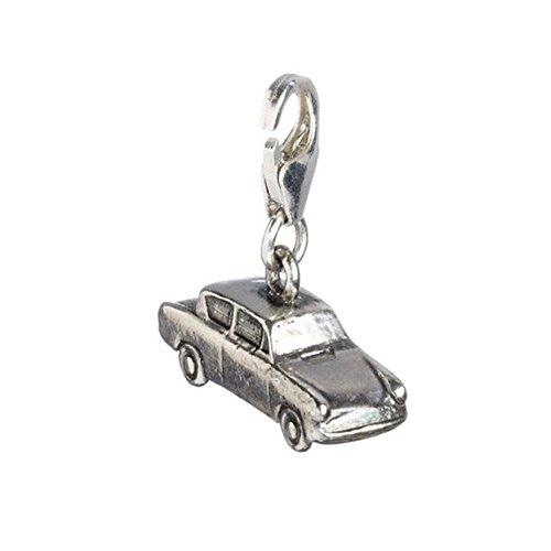 Official Ron Weasley Sterling Silver Ford Anglia Flying Car Clip on Charm - Boxed