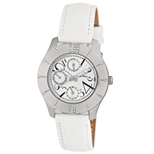 Paris Hilton Women's 138.4689.60 Multi Function Leather Strap Watch