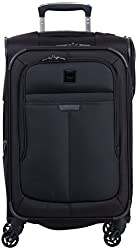 Delsey Luggage Helium Pilot 3.0 Carry-On Expandable Spinner Trolley