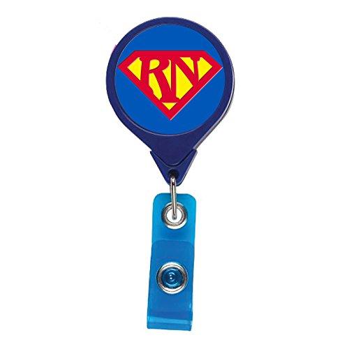 """Super RN"" Retractable Badge Holder"