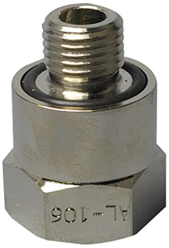 Ez (Al-106) Silver 14Mm-1.5 Thread Size Oil Drain Valve Adapter