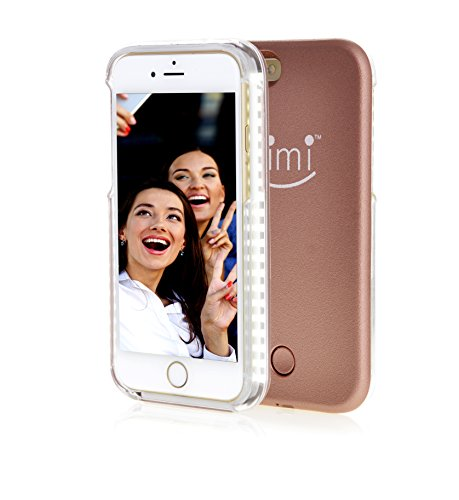 Selfie Light Iphone 6 Plus / 6S Plus Case By Kimi - Durable Led Illuminated Cell Phone Case ...
