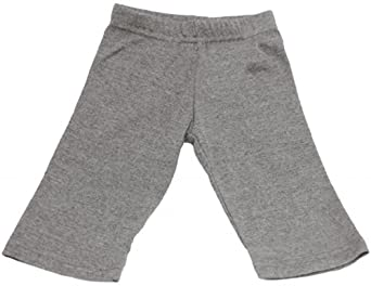 Mato & Hash 100% Cotton Unisex Infant Baby Straight Leg Karate Pants Deep Heather 12-18M