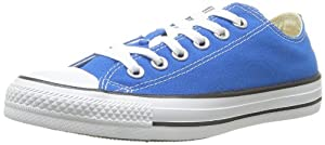 Converse Unisex Chuck Taylor? All Star? Seasonal Ox Electric Blue Lemonade Men's 6, Women's 8 Medium
