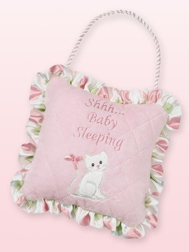 Bearington Baby Little Kitty Pillow