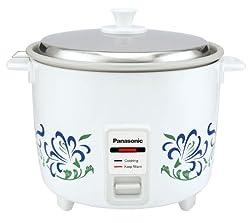 Panasonic SR-WA10H(E) 1-Litre Rice Cooker (White)
