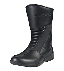 TourMaster Solution 2.0 Men's Cold-Weather WP Road Boots (Black, Size 7)