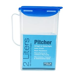 Lock & Lock Pitcher, 8.5 cup