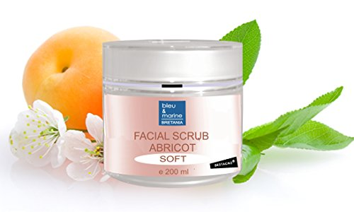 Scrub mask Albicocca (200 ml) - per tutti i tipi di pelle - Esfoliante levigante