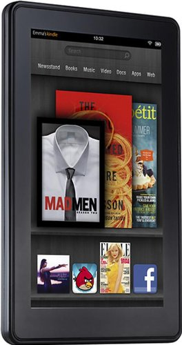 Kindle Fire Wi-Fi, Full Color 7 Multi-Touch Display
