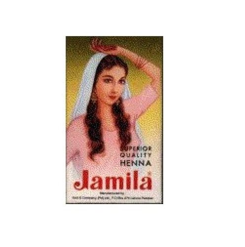 Jamila  Henna Powder,  3.52-Ounce Box  (Pack