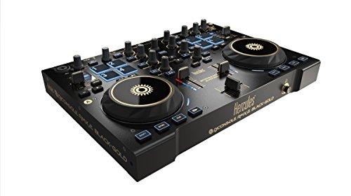 Buy Cheap Hercules DJ 4769259 DJ Console RMX 2, Black/Gold