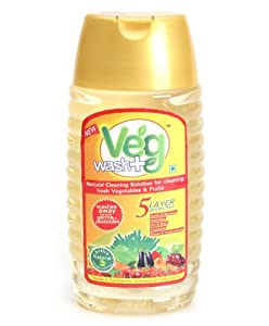 Stock clearance offer Veg Wash - (2 piece of 375ml each) available only on amazon.in (MRP 198)