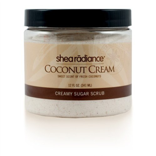 Coconut Cream Shea Butter Scrub 8 Ounces