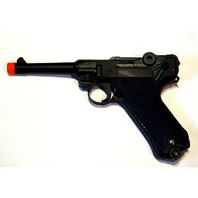 WE Luger 908SB Gas Blow Back Airsoft Pistol 4 inch Barrel WE-037