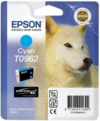 Epson T0962 Cyan Ink Cartrige C13T09624010 (C13T09624010) [Office Product]
