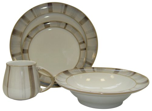 Denby Truffle Layers 16 Piece Boxed Tableware Set