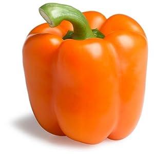 Orange Bell Pepper, Large   AmazonFresh