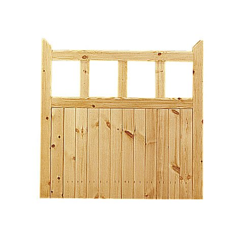 Garden Gate - Softwood - Unfinished - Traditional Design - W 1067mm