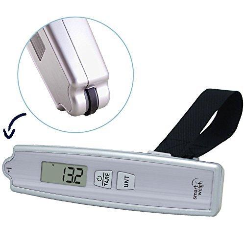 ¡Práctico y barato! Balanza digital para equipaje Smart Weigh GO200