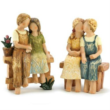 Folk Art Country Couples Set