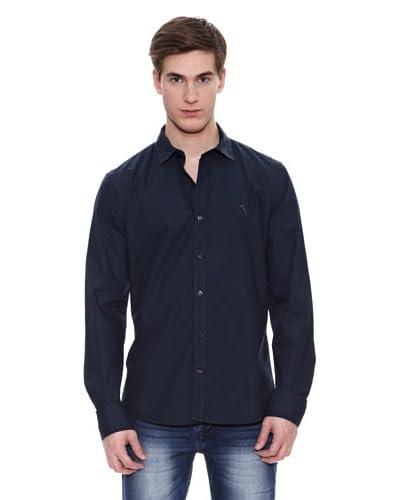 Paul Stragas Camisa Hombre Greene Azul Marino