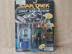 "4.5"" Dr. Julian Bashir in Starfleet Duty Uniform - Star Trek: Deep Space Nine"