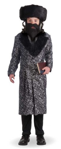 Silver Robe Child Rabbi Costume